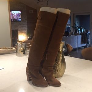Dolce Vita suede over knee boots